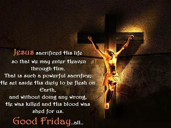 Good Friday Images Greetings Ideas SMS Quotes