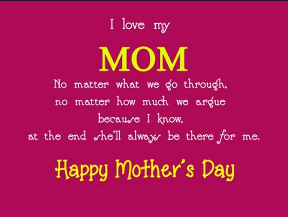 Mother's day 2018 quotes and images
