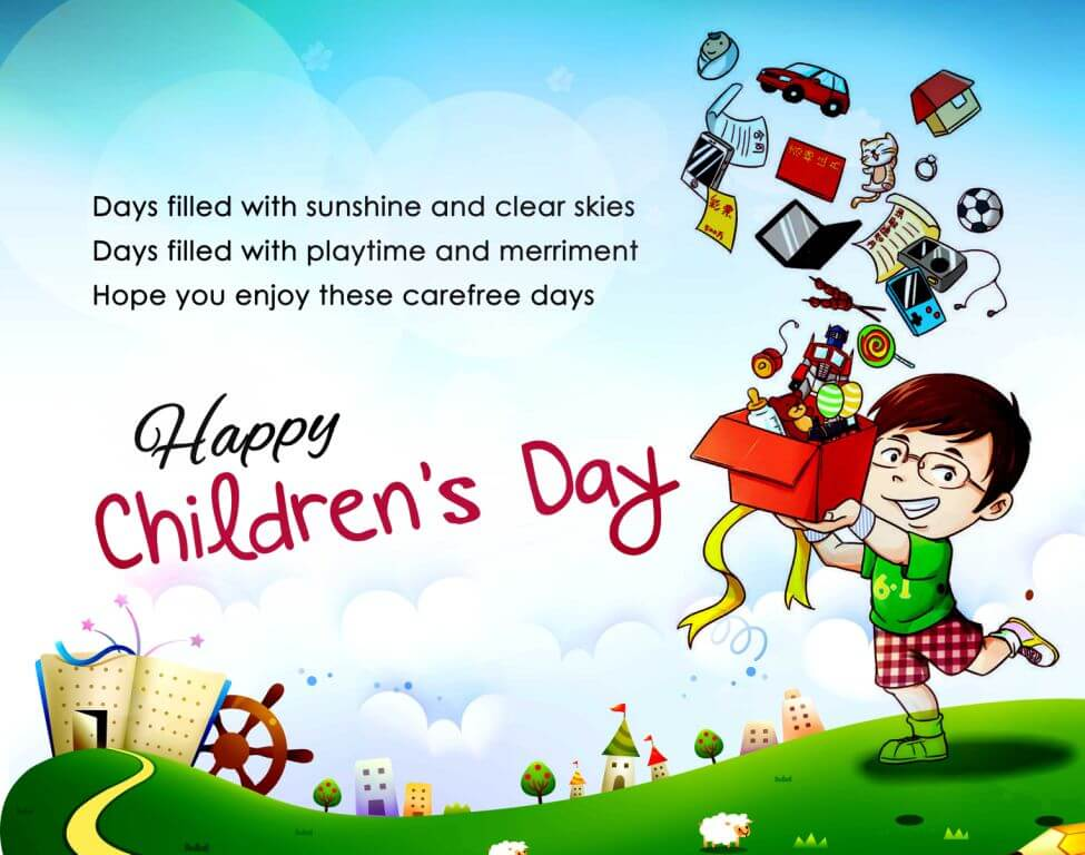 Children's Day Slogans Children's Day Sayings (5)