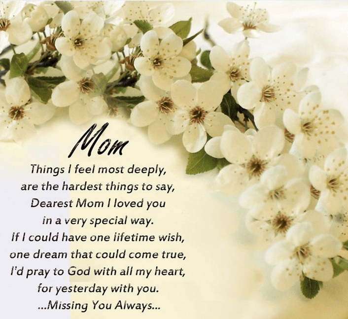 Happy Mothers Day Quotes From a Daughter 2018