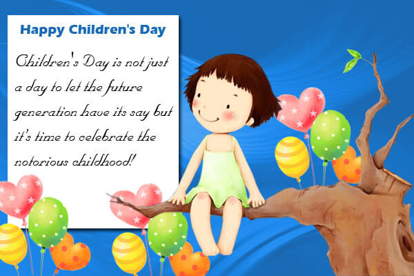 Sweet Quotes On Children's Day (6)
