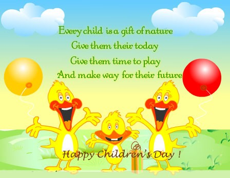 Sweet Quotes On Children's Day (8)