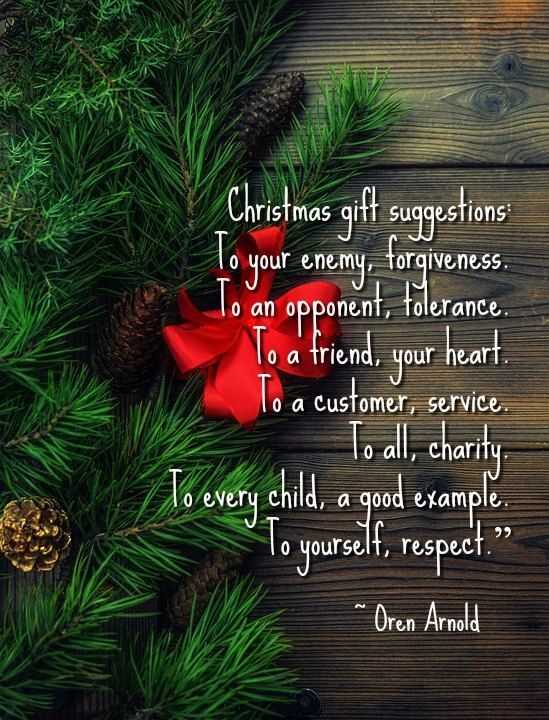 Christmas Quotes about Giving