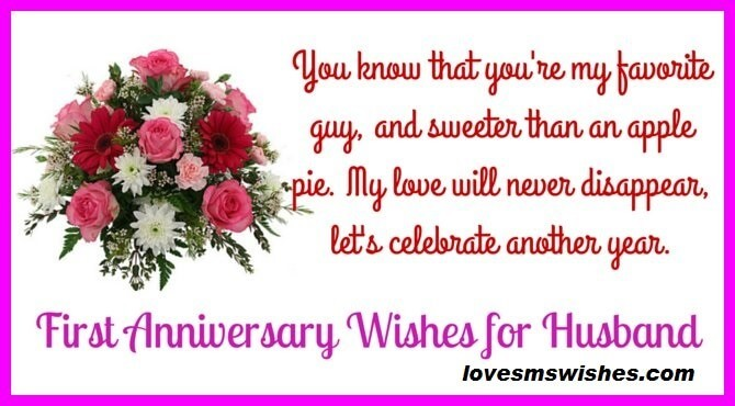 Anniversary Wishes for Husband on Facebook