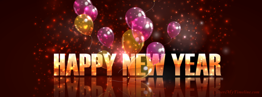 Happy New Year 2020 Facebook Cover