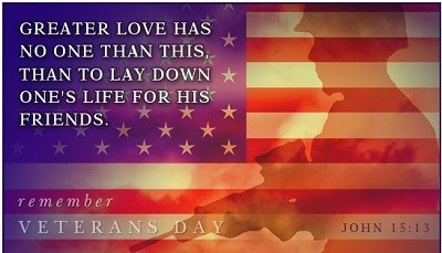 Happy Veterans Day Thank You Message