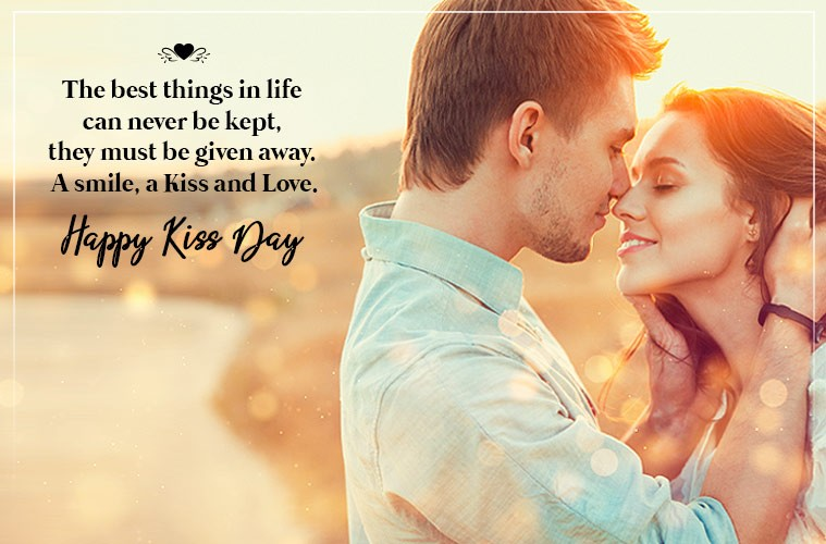 Kiss Day Messages SMS